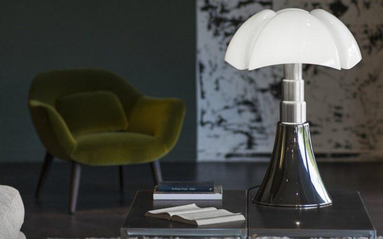Comment se présente une lampe Pipistrello design ?